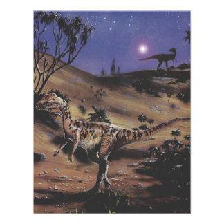Fiesta de cumpleaños de los dinosaurios del Diloph Comunicados Personales