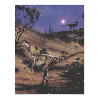 Fiesta de cumpleaños de los dinosaurios del comunicados personales