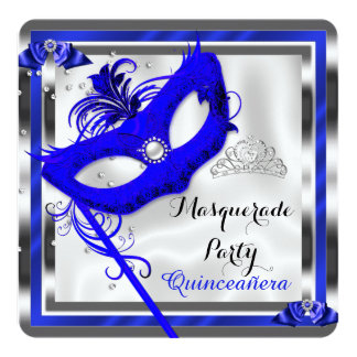 Fiesta de cumpleaños de Quinceanera de la Invitación 13,3 Cm X 13,3cm