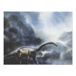 Fiesta de cumpleaños del dinosaurio del Barapasaur Anuncio