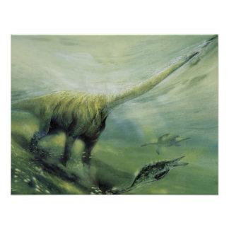 Fiesta de cumpleaños del dinosaurio del Brachiosau Comunicados