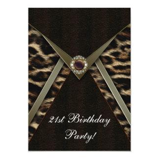Fiesta de cumpleaños del número de la mujer del invitacion personal