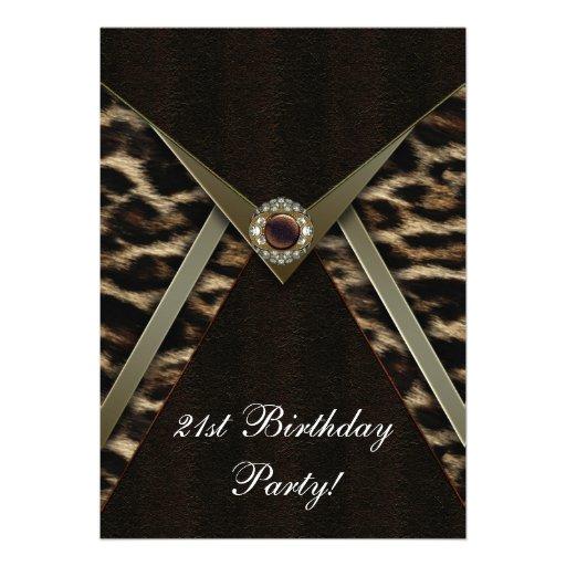 Fiesta de cumpleaños del número de la mujer del le invitacion personal