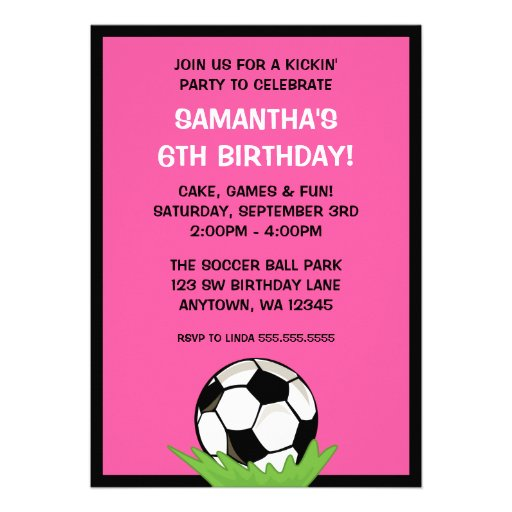 Fiesta de cumpleaños del rosa del chica del balón  anuncio