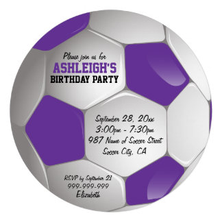 Fiesta de cumpleaños púrpura y blanca del balón de