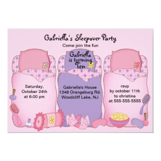 Fiesta de cumpleaños rosada del sueño invitación 12,7 x 17,8 cm