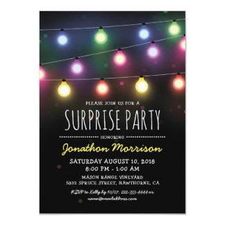 Fiesta de cumpleaños unisex adulta simple de la invitación 11,4 x 15,8 cm