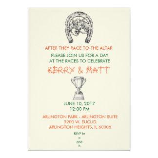 Fiesta de Derby Invitación 12,7 X 17,8 Cm