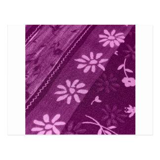 Fiesta de ducha rosada púrpura de las vides de los postal