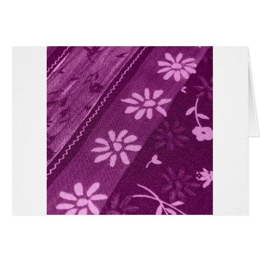 Fiesta de ducha rosada púrpura de las vides de los felicitacion