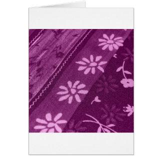 Fiesta de ducha rosada púrpura de las vides de los tarjeta de felicitación