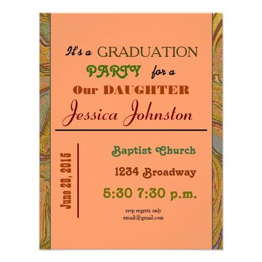 fiesta de graduación comunicado personal