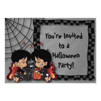 Fiesta de hadas de los niños de Halloween Invitación 12,7 X 17,8 Cm