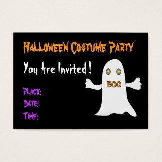 Fiesta de Halloween - invitación
