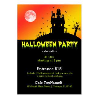 Fiesta de Halloween Plantilla De Tarjeta Personal