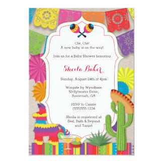 ¡Fiesta de la fiesta de bienvenida al bebé! La Invitación 12,7 X 17,8 Cm