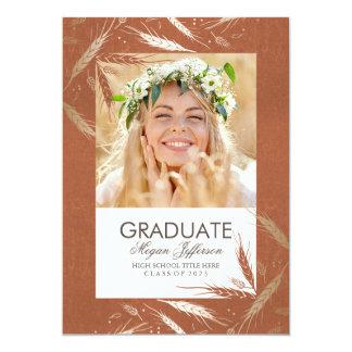 Fiesta de la invitación de la graduación de la