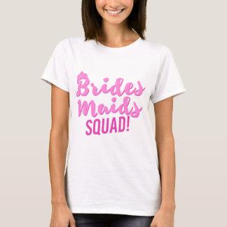 Fiesta de la novia de Bachelorette del pelotón de Camiseta