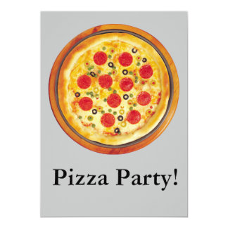 Fiesta de la pizza comunicado personal