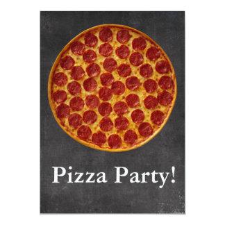 Fiesta de la pizza comunicado personalizado