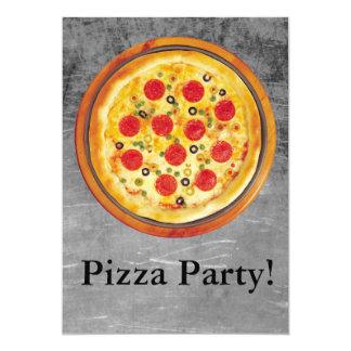 Fiesta de la pizza comunicados personales