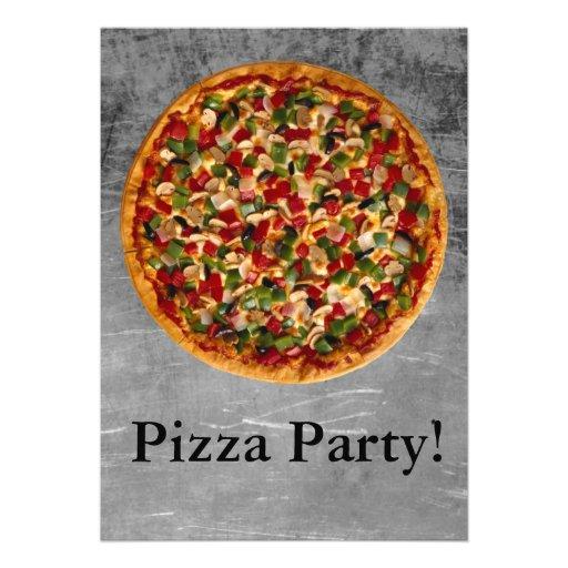 Fiesta de la pizza anuncio