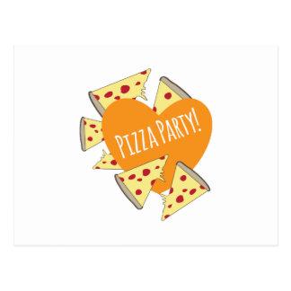 Fiesta de la pizza postal