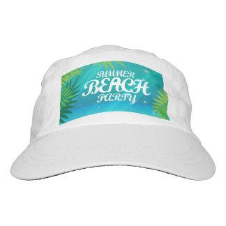 Fiesta de la playa del verano gorra de alto rendimiento