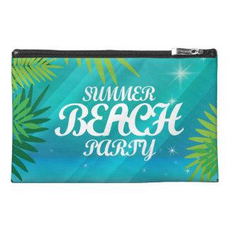 Fiesta de la playa del verano neceser de viaje