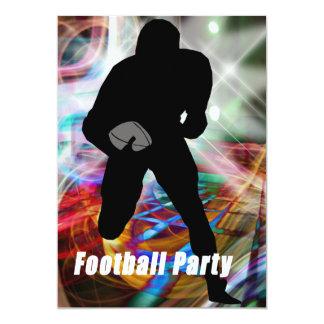 Fiesta de las luces del fútbol invitación 12,7 x 17,8 cm