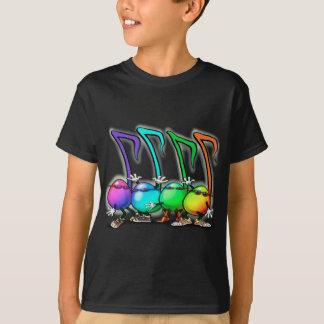 Fiesta de las notas de la música camiseta