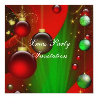 Fiesta de Navidad de Navidad de la invitación