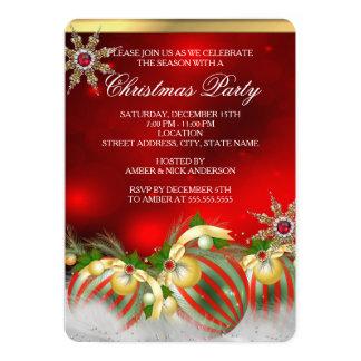 Fiesta de Navidad de plata roja de las chucherías Comunicado