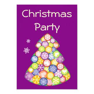 Fiesta de Navidad Invitaciones Personales