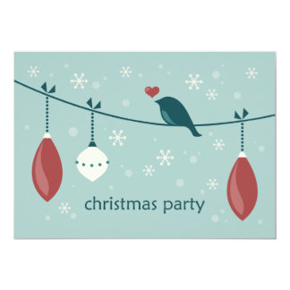 Fiesta de Navidad Invitación 12,7 X 17,8 Cm