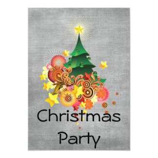 Fiesta de Navidad Invitacion Personal