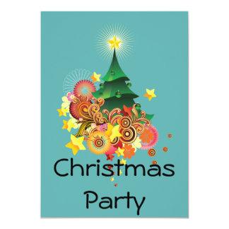 Fiesta de Navidad Comunicado Personalizado