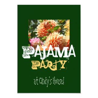 ¡Fiesta de pijama en su casa conocida! Anuncio