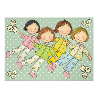 Fiesta de pijama/sueño encima - SRF Anuncio