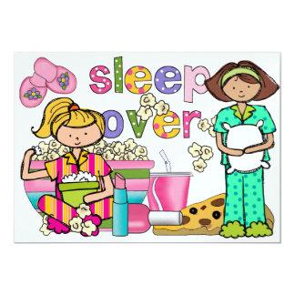 Fiesta de pijama/sueño encima - SRF Anuncio Personalizado
