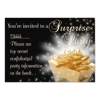 Fiesta de sorpresa invitación 12,7 x 17,8 cm
