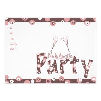 fiesta del bachelorette invitaciones personales