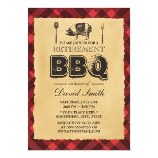 Fiesta del Bbq de la carne asada del cerdo del Invitación 12,7 X 17,8 Cm