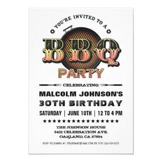 Fiesta del Bbq de las invitaciones el | del