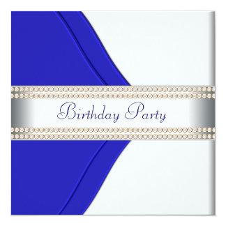 Fiesta del cumpleaños de la mujer de los azules comunicados