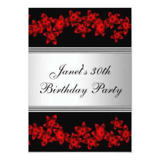 Fiesta del cumpleaños de la mujer del Dogwood Invitación 12,7 X 17,8 Cm
