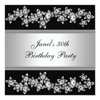 Fiesta del cumpleaños de la mujer del Dogwood Invitación 13,3 Cm X 13,3cm