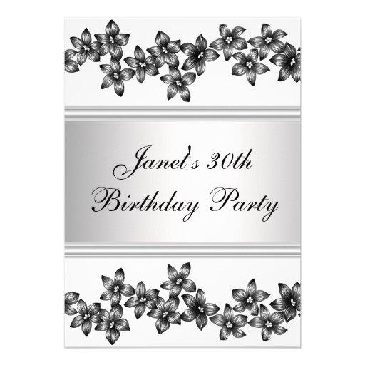 Fiesta del cumpleaños de la mujer del Dogwood trig Comunicado Personal