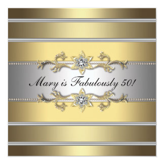 Fiesta del cumpleaños de las 50 mujeres fabulosa invitaciones personales