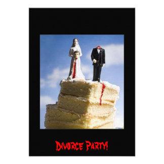 Fiesta del divorcio anuncio